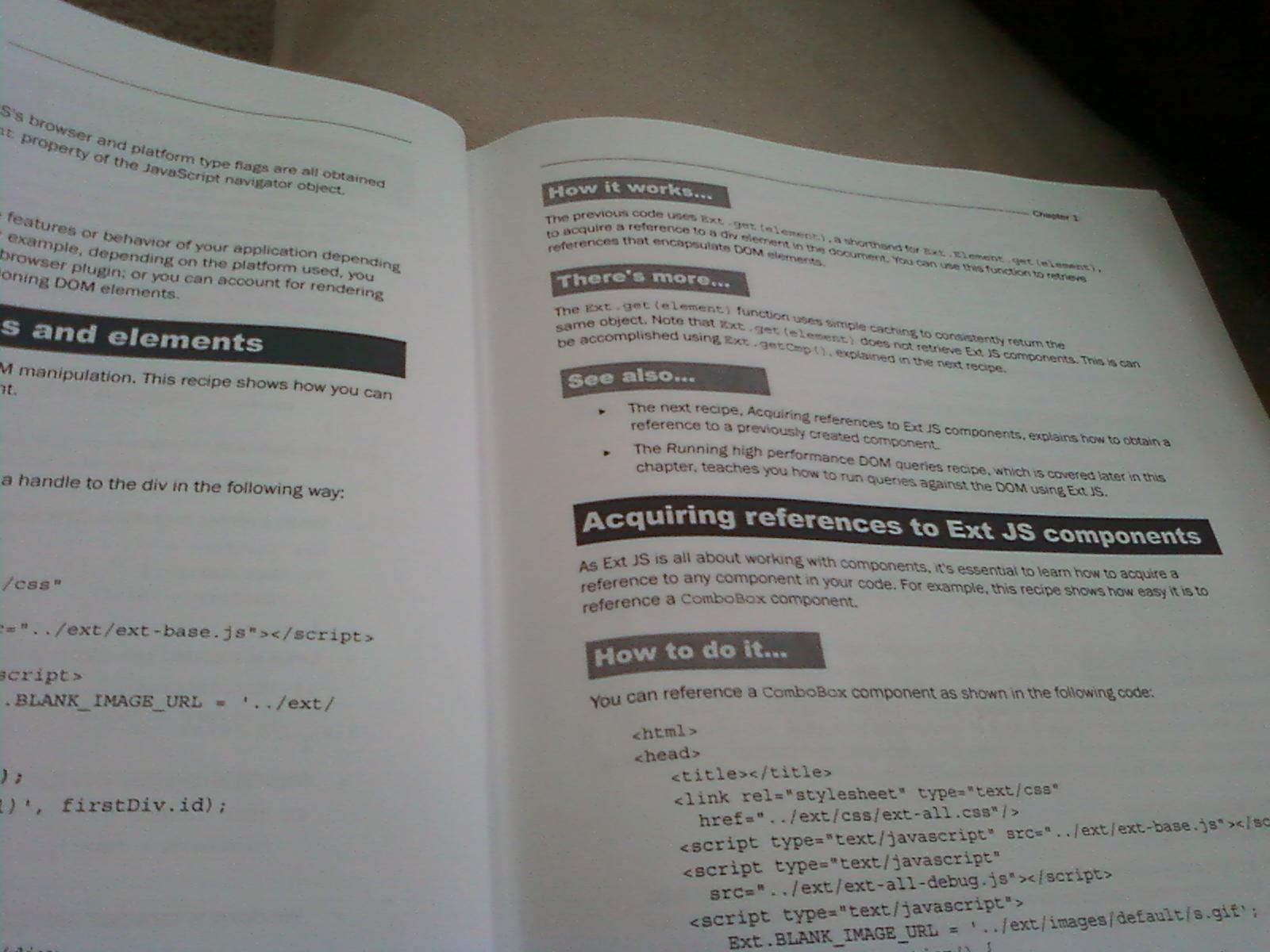 ExtJS 3.0 Cookbook